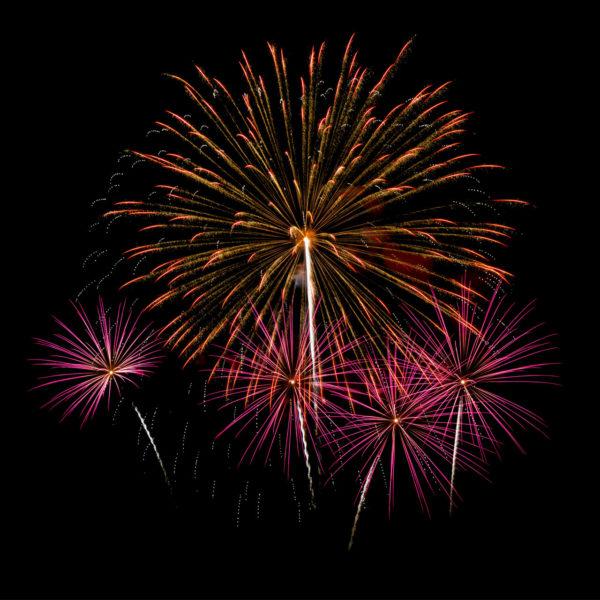 Fuochi d'artificio pirotecnici Almè Bergamo Fuselli Sport