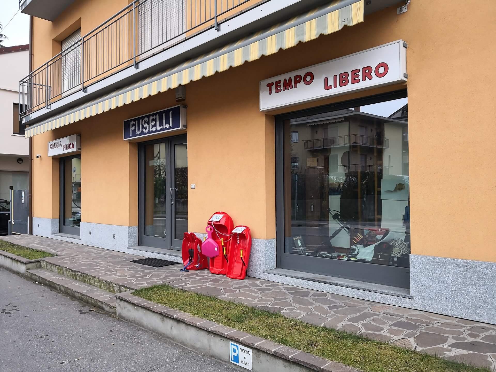 Esterno negozio Fuselli Sport