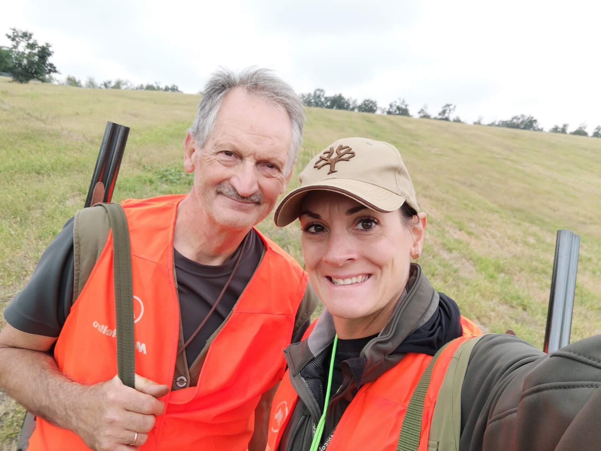 prove tecniche armi sul campo in riserva di caccia