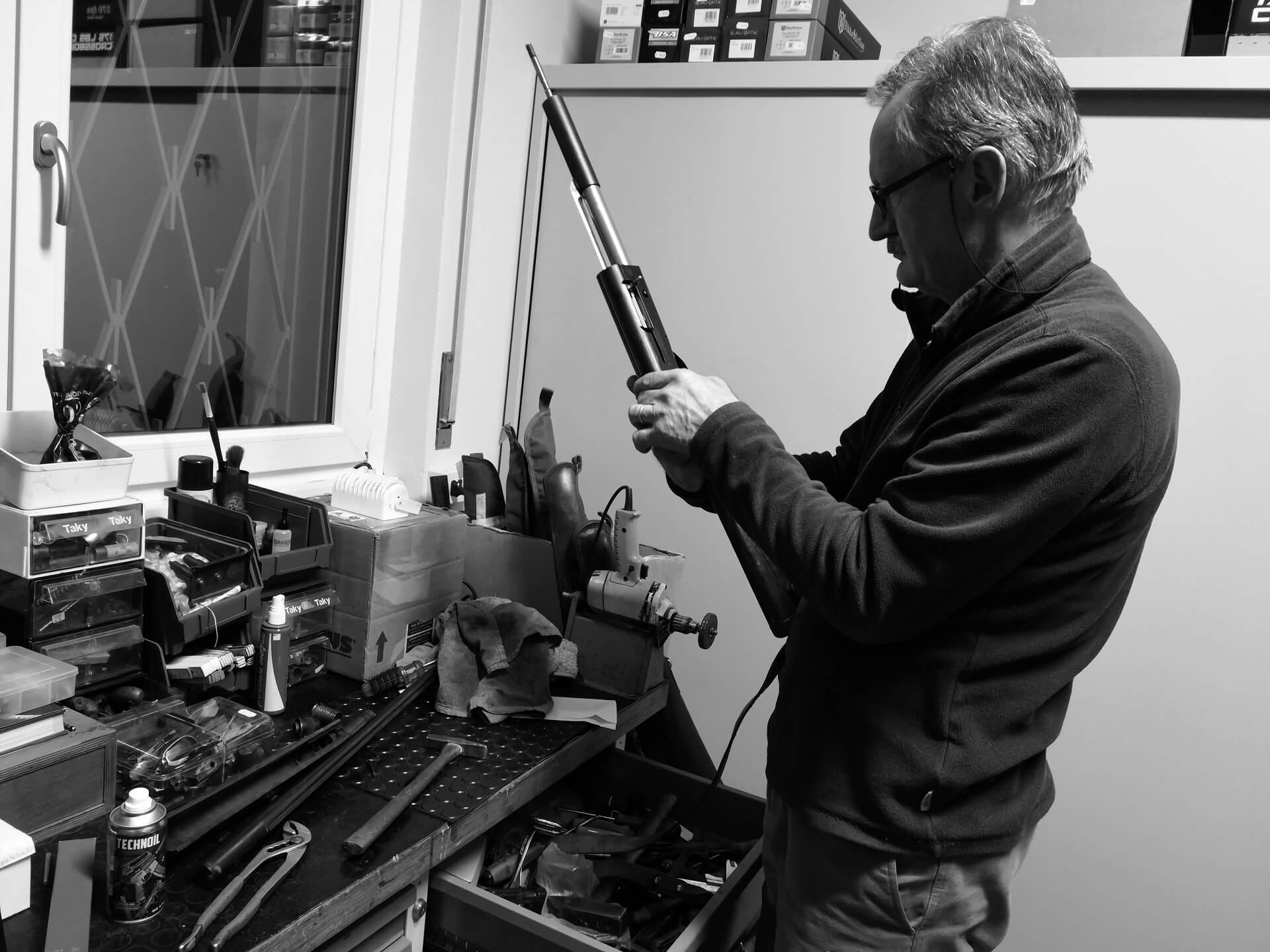 riparazioni armi a Bergamo
