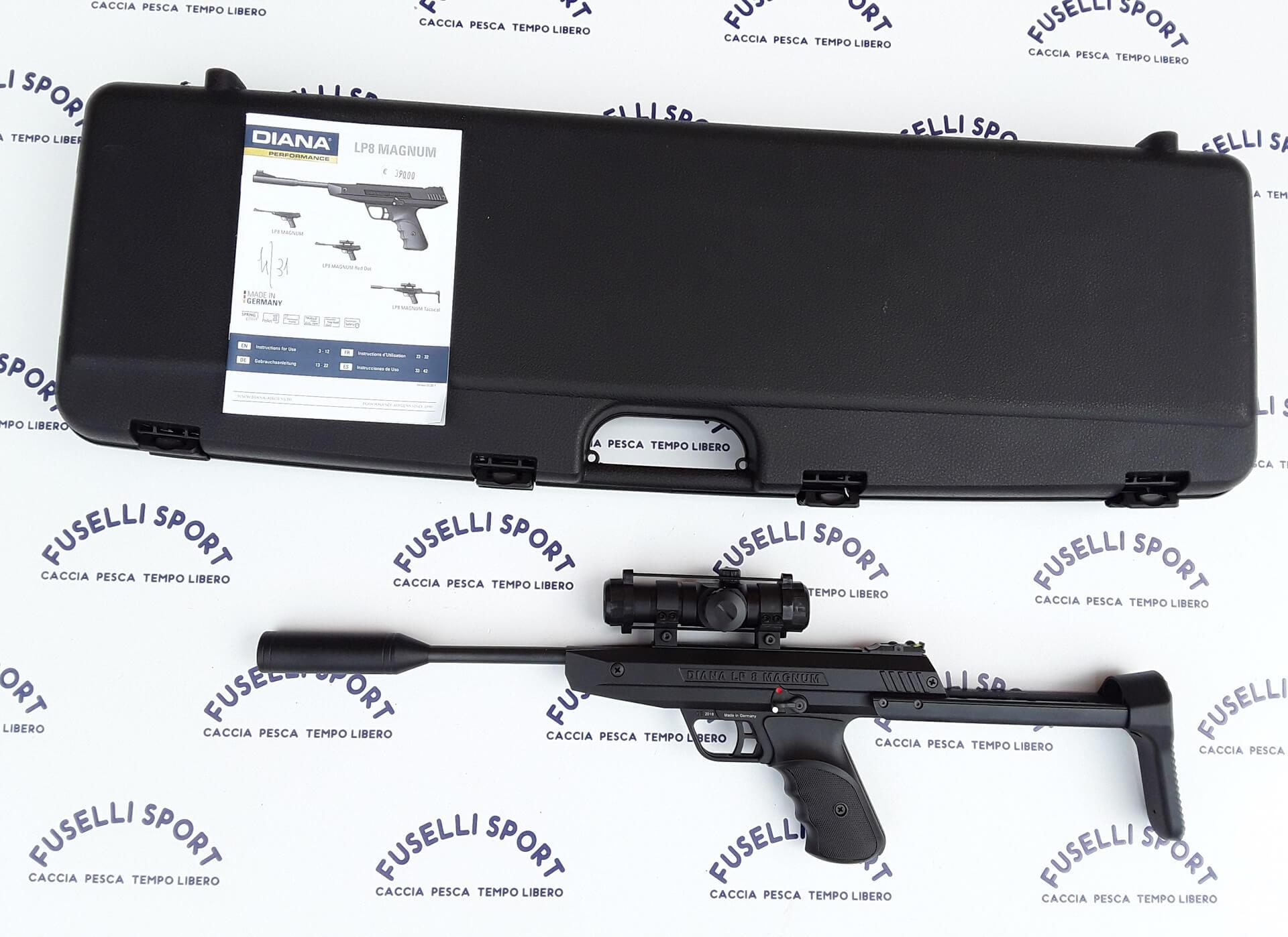 Diana lp8 Magnum con valigetta